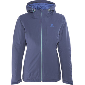Salomon La Cote Insulated Jakke Damer blå
